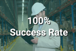 100% success rate