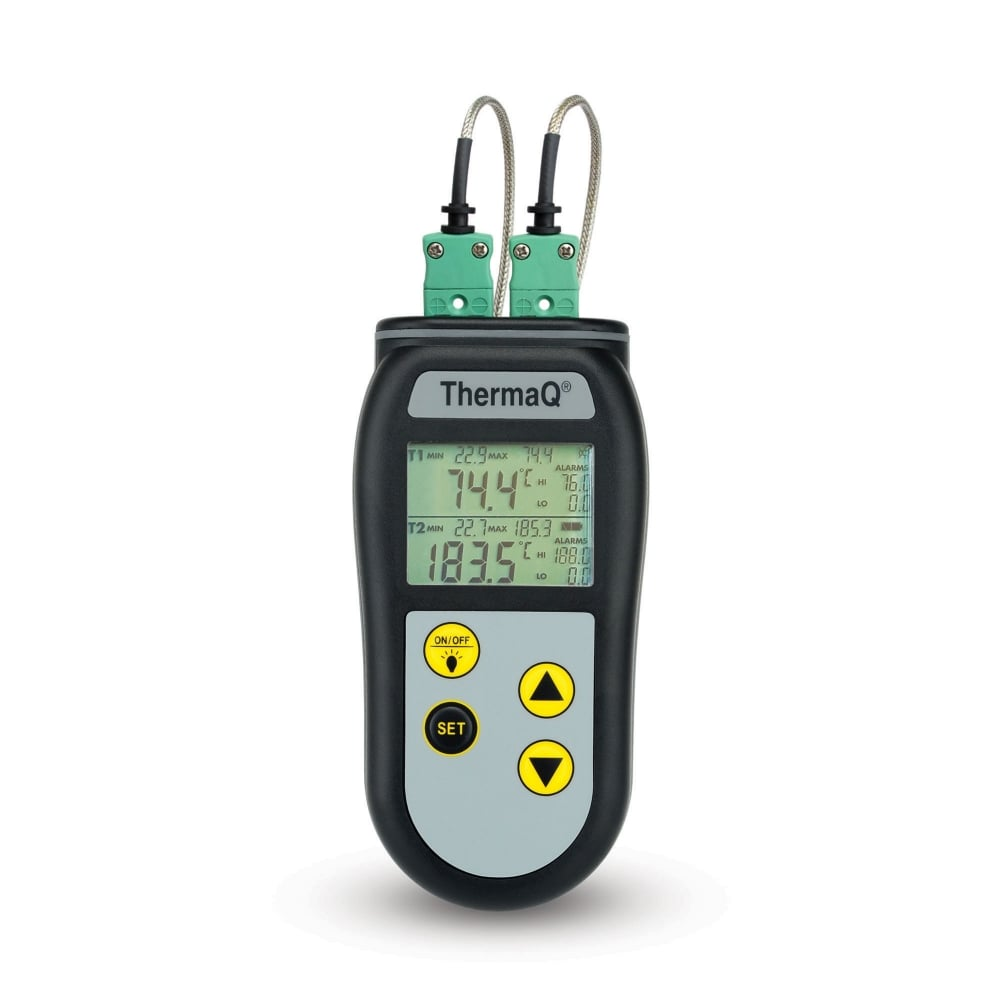 ETI ThermaQ 2 Channel K Type Thermocouple Thermometer