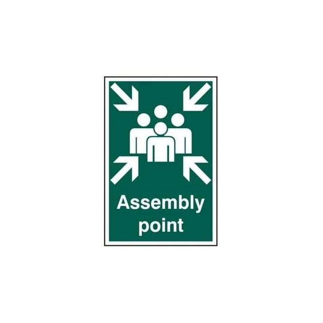 Complete Safety Supplies Assembly Point Sign - 200 x 300