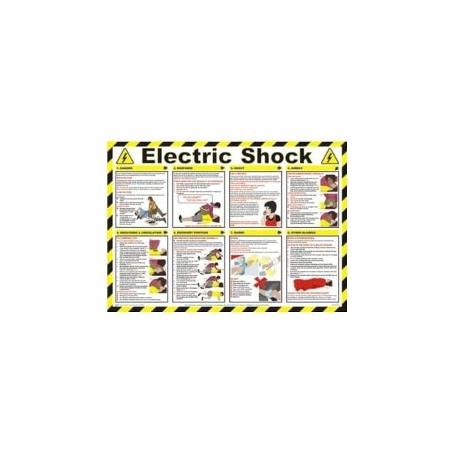 Complete Safety Supplies Electric Shock Safety Poster