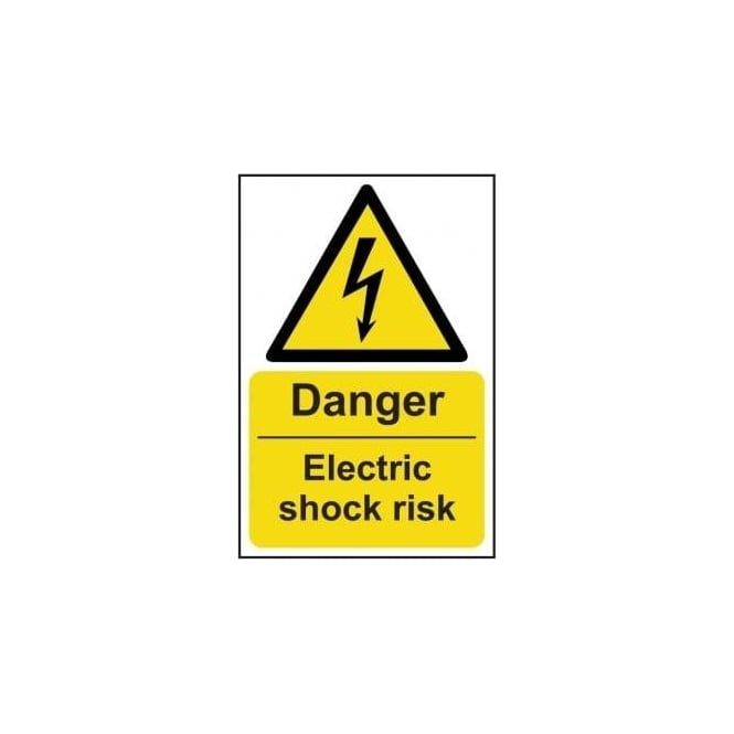 Complete Safety Supplies Danger Electric Shock Risk