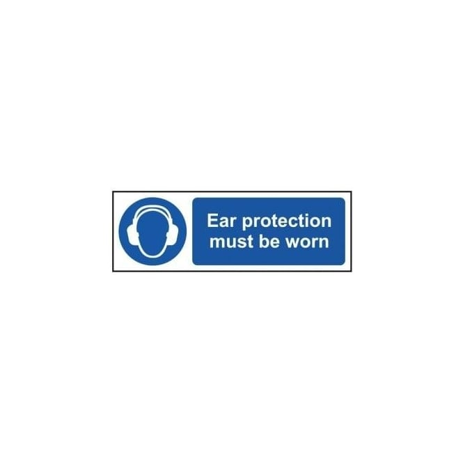 Complete Safety Supplies Ear Protection Must Be Worn Sign