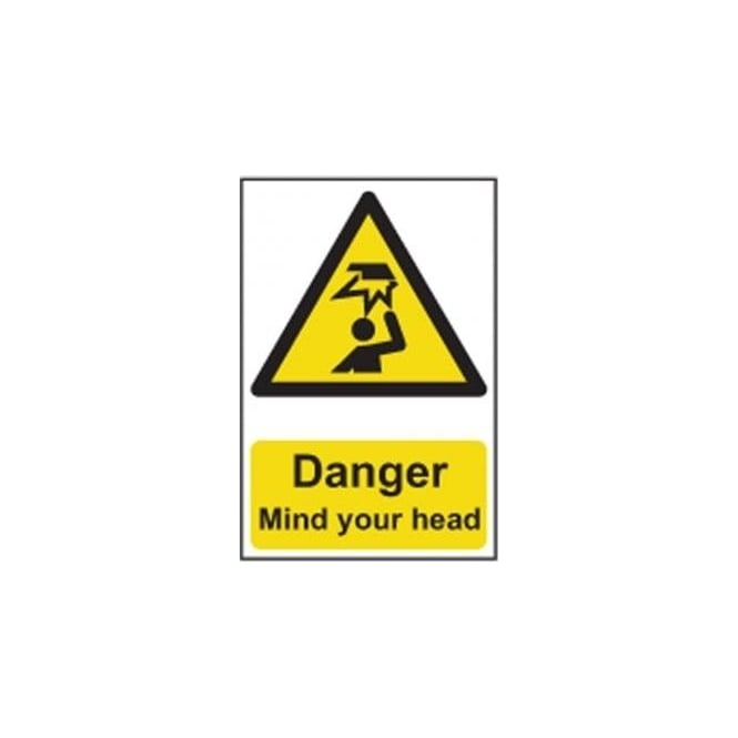 Complete Safety Supplies Danger Mind your head Sign