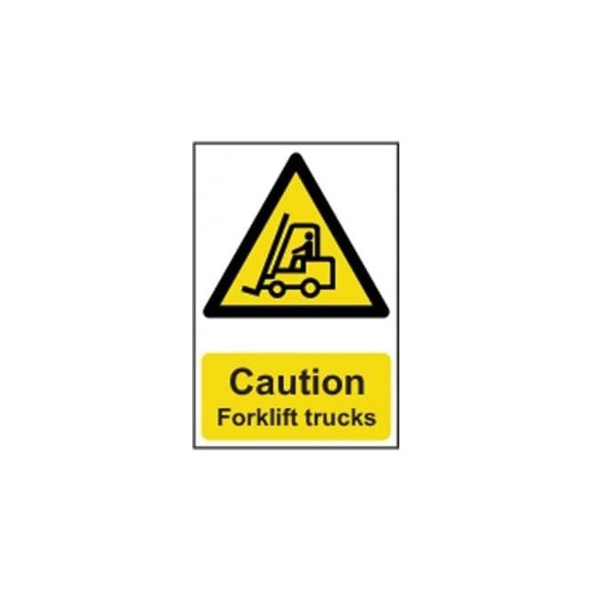 Complete Safety Supplies Caution Forklift trucks Sign