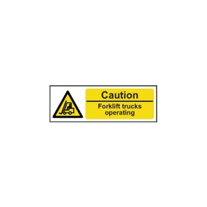 Complete Safety Supplies Caution Forklift trucks operating Sign