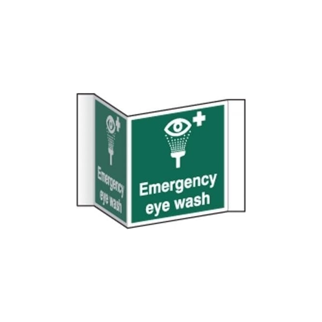Complete Safety Supplies Emergency eye wash Projecting Sign