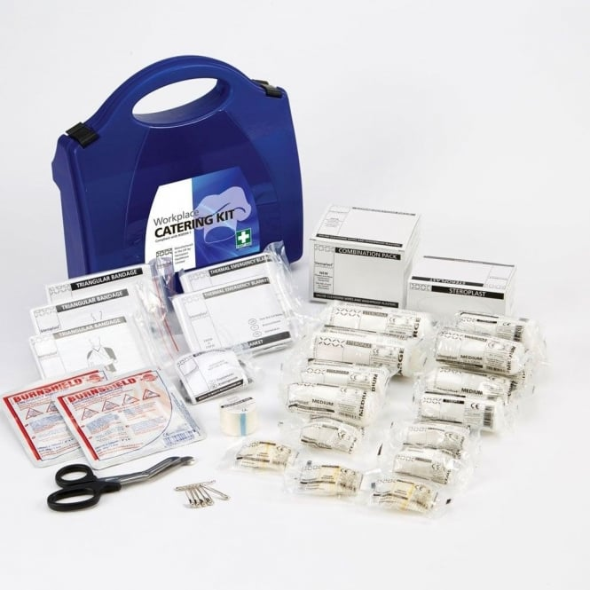 Steroplast Catering First Aid Kit - BS-8599-1 Compliant