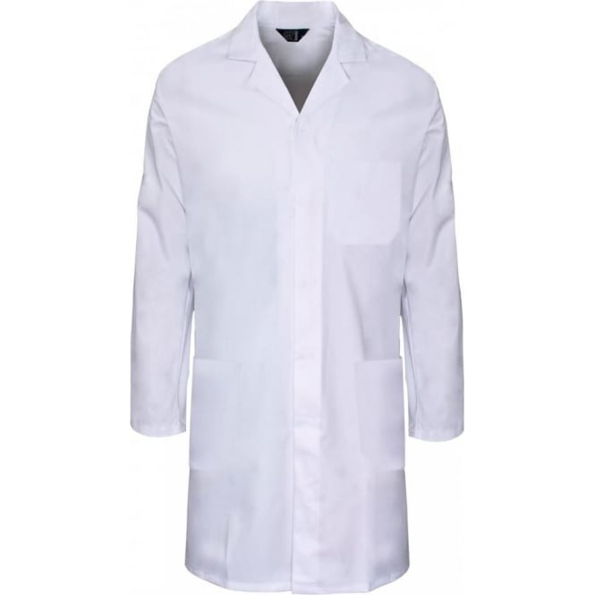 Supertouch Polycotton Lab Coat With External Pockets
