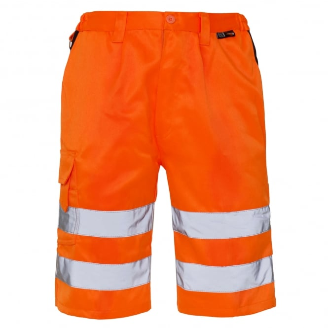 Supertouch Hi Vis Shorts Orange EN ISO 20471 Class 1