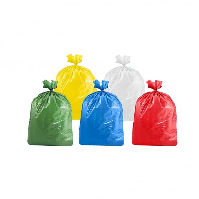 Klipspringer Coloured Bin Bags (Box of 200)