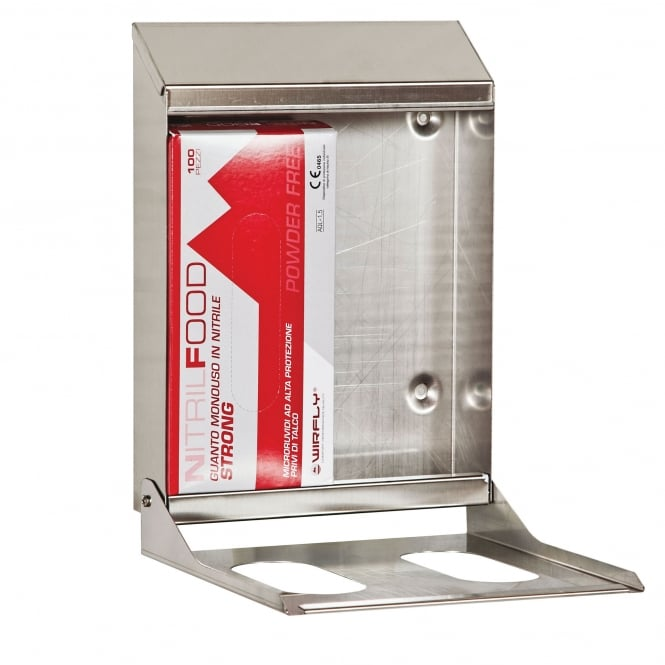 BST Double Box Stainless Steel Glove Dispenser