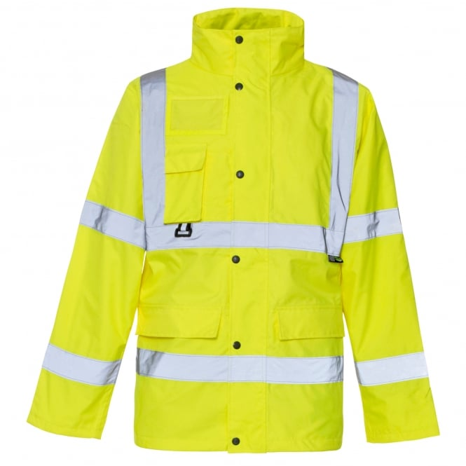 Supertouch Hi Vis Jacket With ID & Map Pocket EN471 & 343