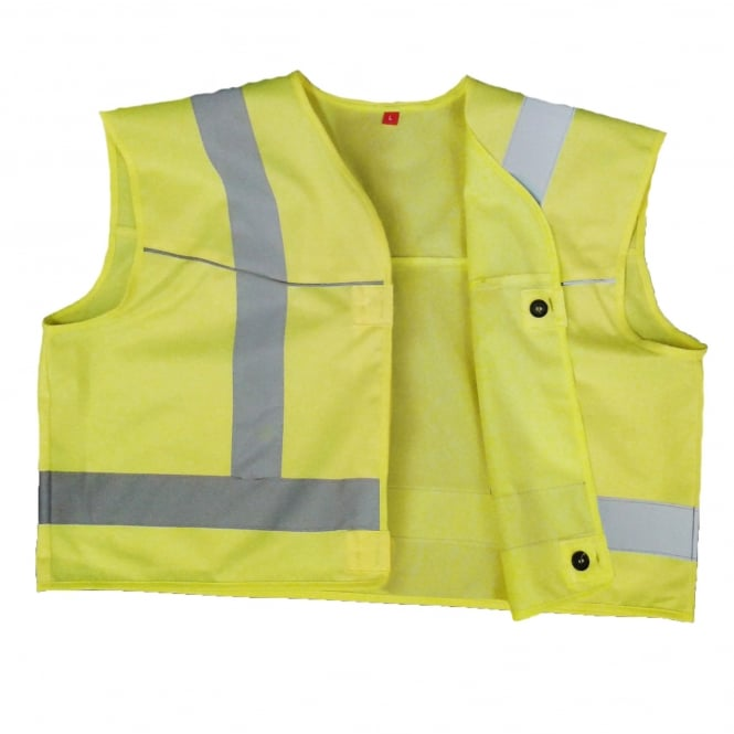 FlexiTog Button-On Hi-Vis Vest