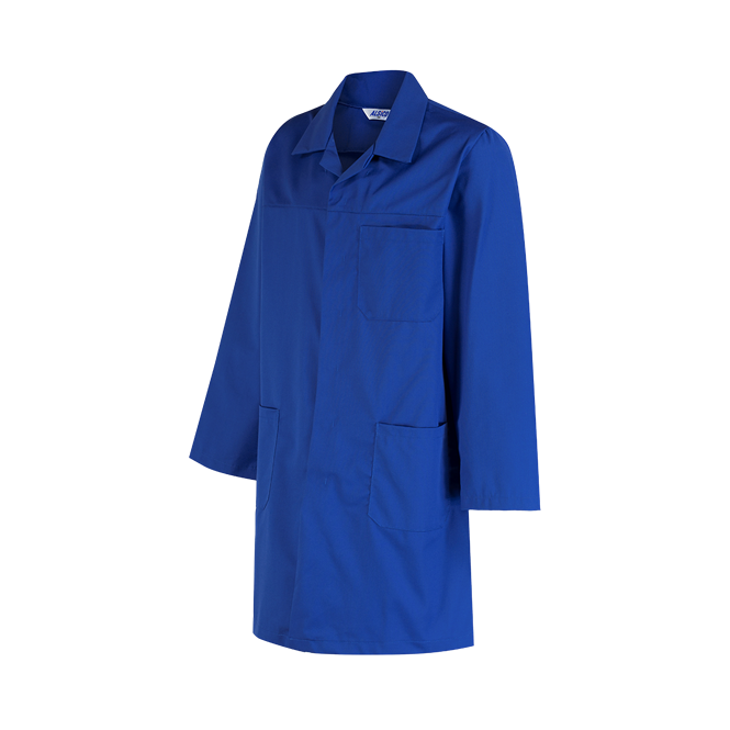 Alsico Polycotton Lab Coat With External Pockets