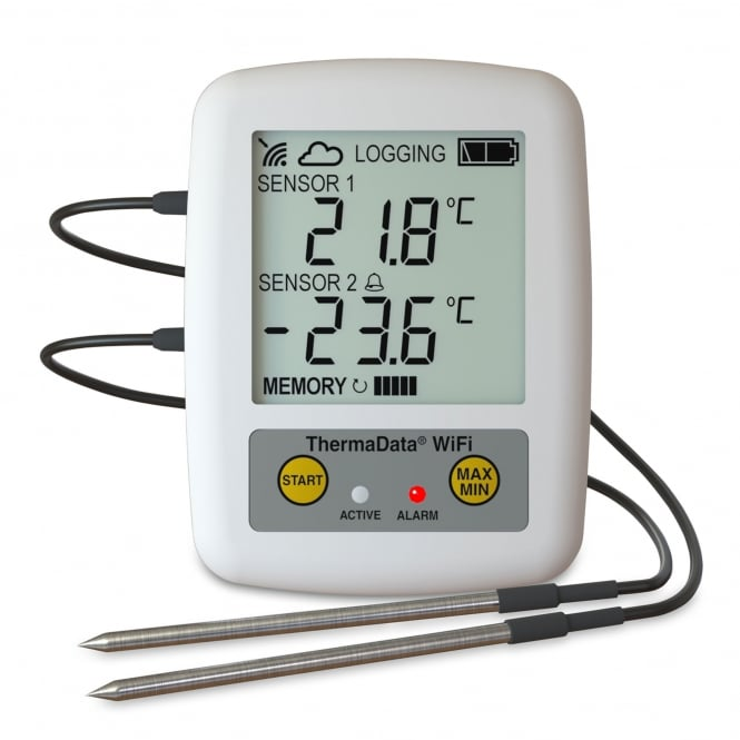 ETI WiFi ThermaData Temperature Logger TD2F
