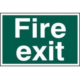 Fire Exit Sign 300 x 200