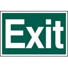 Exit Sign - Self Adhesive Semi Rigid PVC