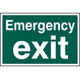 Emergency Exit Sign - 300 x 200