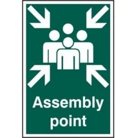 Assembly Point Sign - 200 x 300