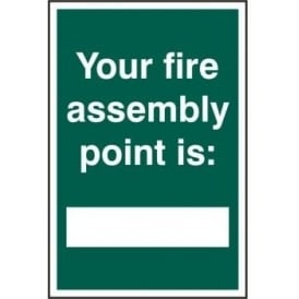 Fire Assembly Point Location Sign