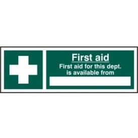 First Aid Location Sign