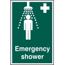 Emergency Shower Sign - 200 x 300