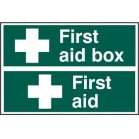 First Aid Box/First Aid Sign