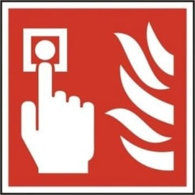 Fire Alarm Sign - 200 x 200