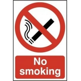 No Smoking Sign - Site Signage