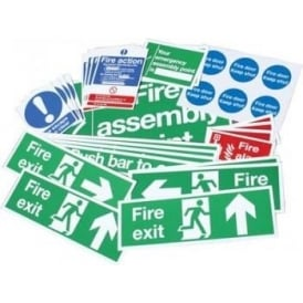 Safety Sign Value Multi Pack