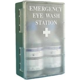 Eyewash Station with Translucent Door
