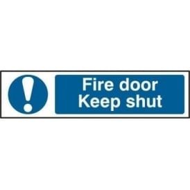 Fire Door Keep Shut - Mini Sign