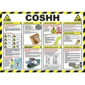 COSHH Health and Safety Poster