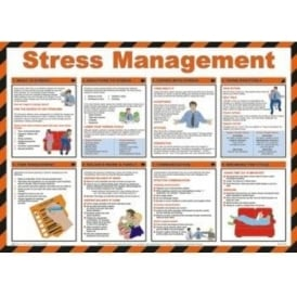 Stress Management - Occupational Health Poster