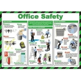 Office Safety - Health and Safety Poster