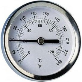 Radiator or Pipe Thermometer - Magnetic