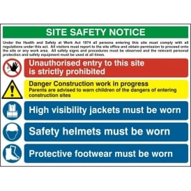 Site Safety Notice - 4551