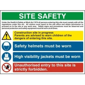 Site Safety Sign