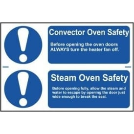 Oven Safety Sign (2 per sheet)
