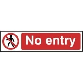 No Entry - Mini Sign
