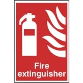 Fire Extinguisher Sign - 200 x 300