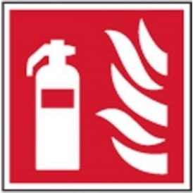 Fire Extinguisher Sign - 200 x 200