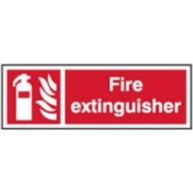 Fire Extinguisher Sign - Various Sizes and Materials