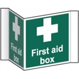 First aid box Projecting Sign