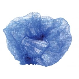 Metal Detectable Disposable Hairnets (Pack of 100)