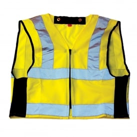 Hi-Vis Zip on Vest (Jacket Purchased Separately)