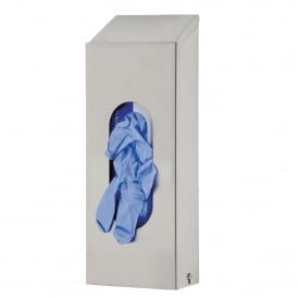 Single Box Stainless Steel Glove Dispenser