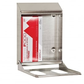 Double Box Stainless Steel Glove Dispenser