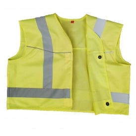 Button-On Hi-Vis Vest
