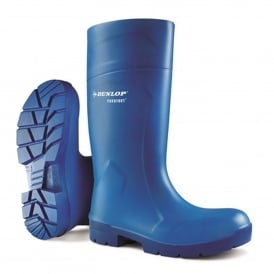 Purofort Blue Wellington Boots Steel Toe Cap